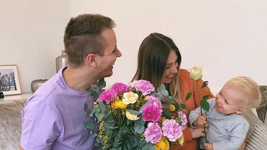 Julian, Bianca und Lio Claßen im Februar 2020