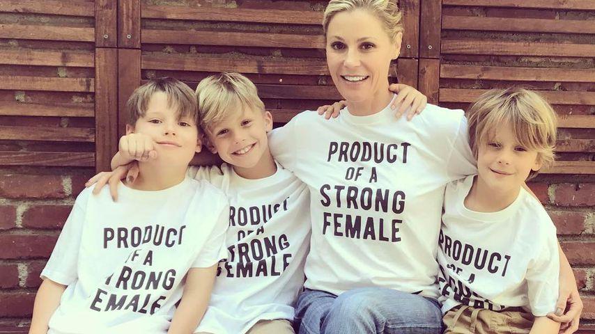 Julie Bowen und ihre Söhne