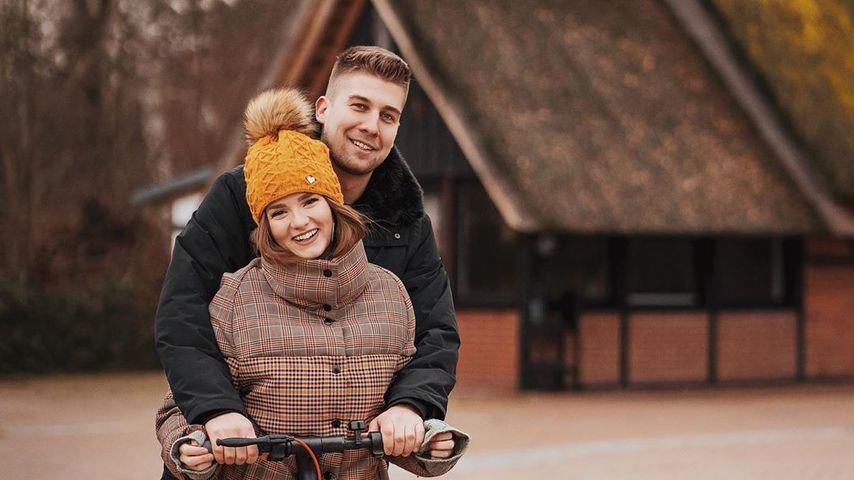 Julita und ihr Freund Florian im Januar 2020