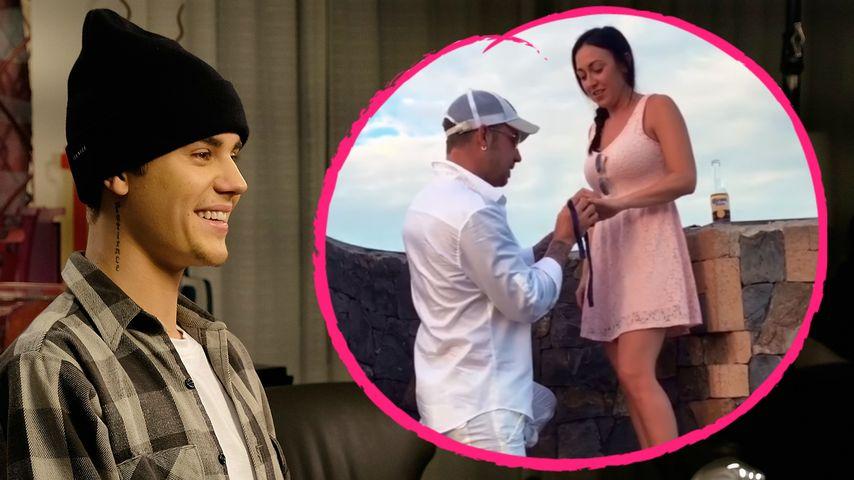 Verlobung bei den Biebers: Popstar Justin bekommt Ersatzmama