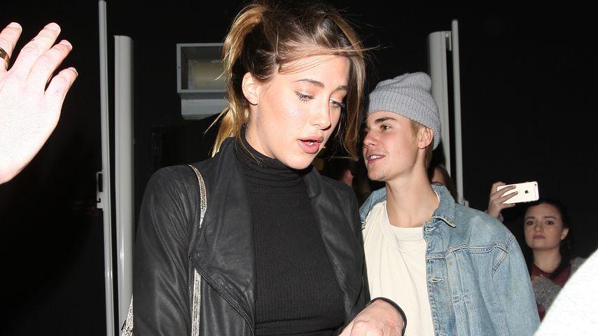 Hailey-Lookalike: Mit wem vergnügt sich Justin Bieber hier?