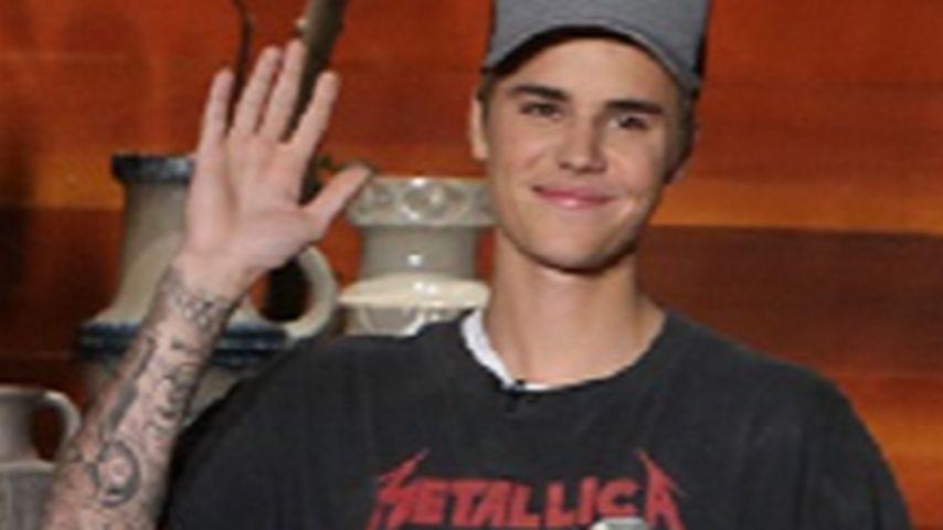 Justin Bieber mit Band-Shirt: Metallica-Fans rasten aus!