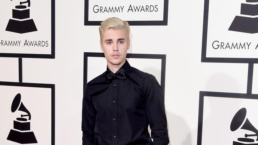 Justin Bieber bei den Grammy Awards in L.A. im Februar 2016