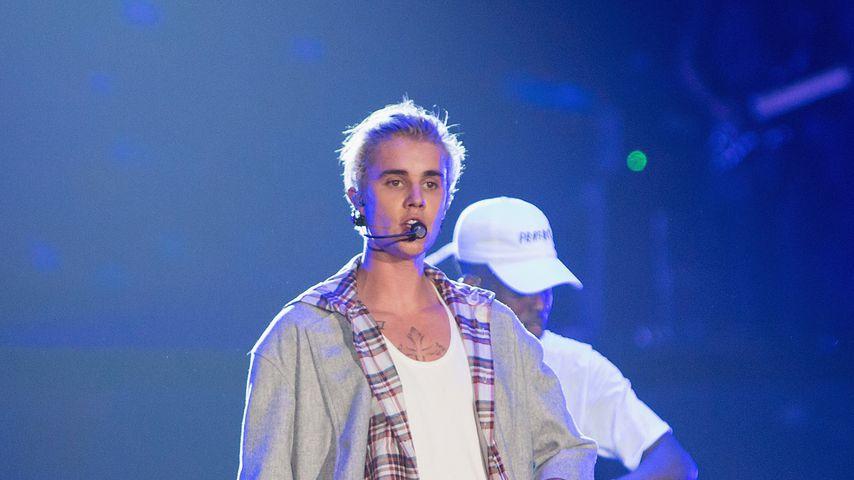"""Justin Bieber auf seiner """"Purpose World Tour"""" im März 2016 in Seattle"""