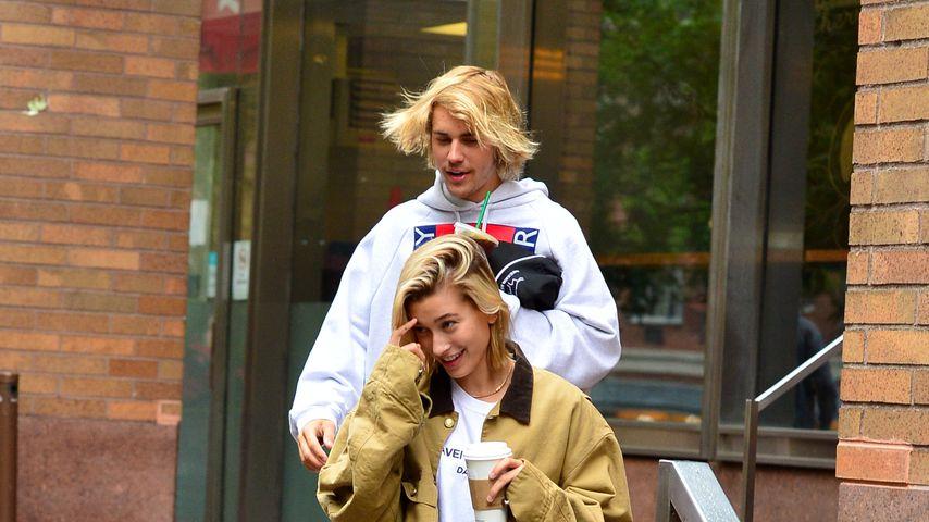 Justin Bieber und Hailey Baldwin in New York