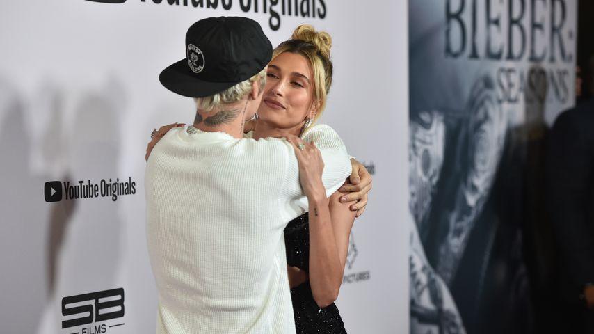 Justin Bieber und Hailey im Januar 2020