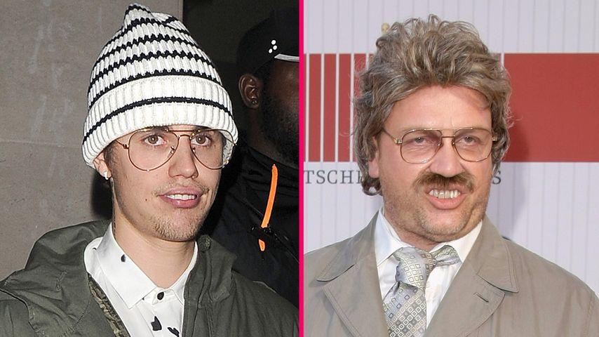 Ach herrjemine! Justin Bieber mutiert zu Horst Schlämmer