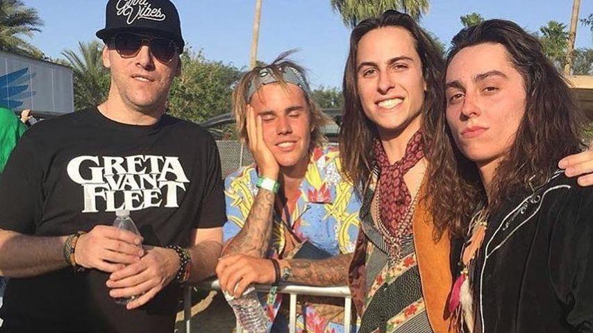 Auf Coachella-Party: Justin verteidigt eine Frau mit Fäusten