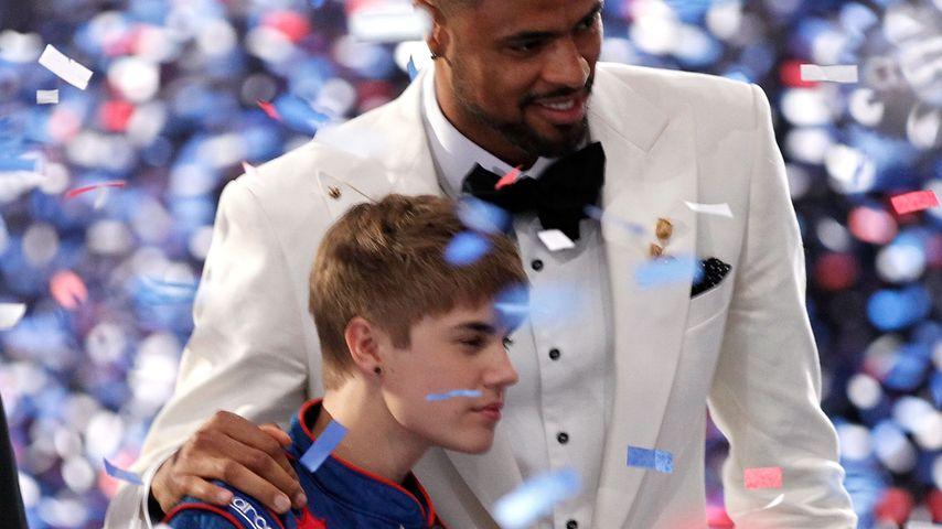Justin Bieber und Tyson Chandler bei den ESPY Awards 2011