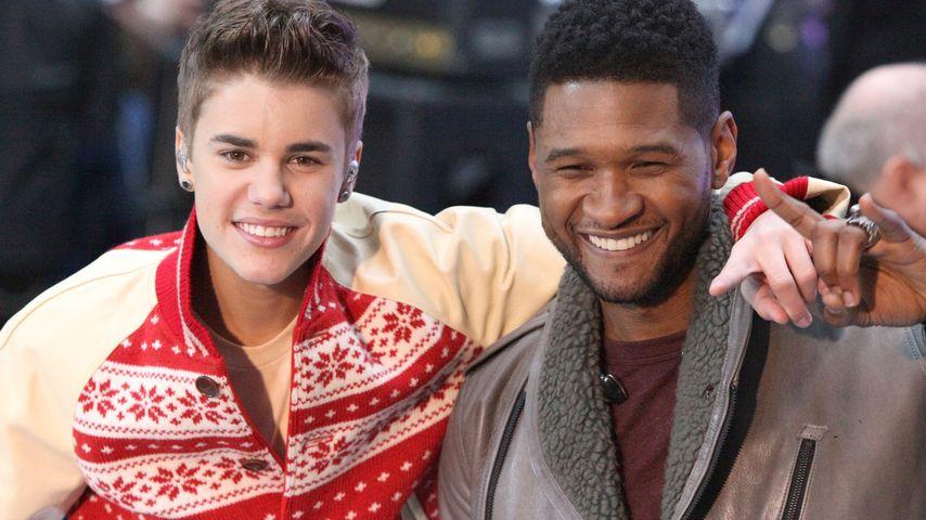 """Usher verrät: """"Justin und ich sind wie Brüder"""""""
