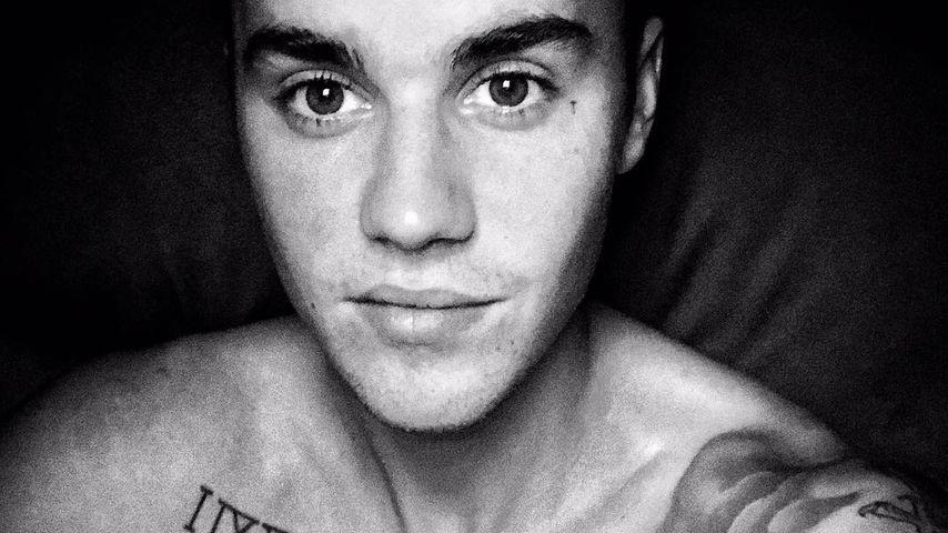 Justin Bieber mit Löwen-Tattoo