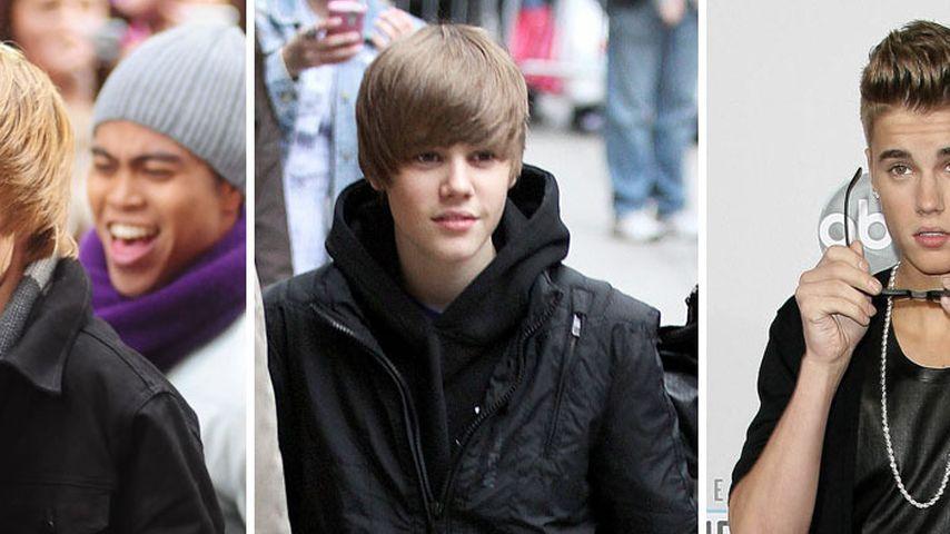 Justin Bieber: Vom süßen Teenie zum coolen Typen