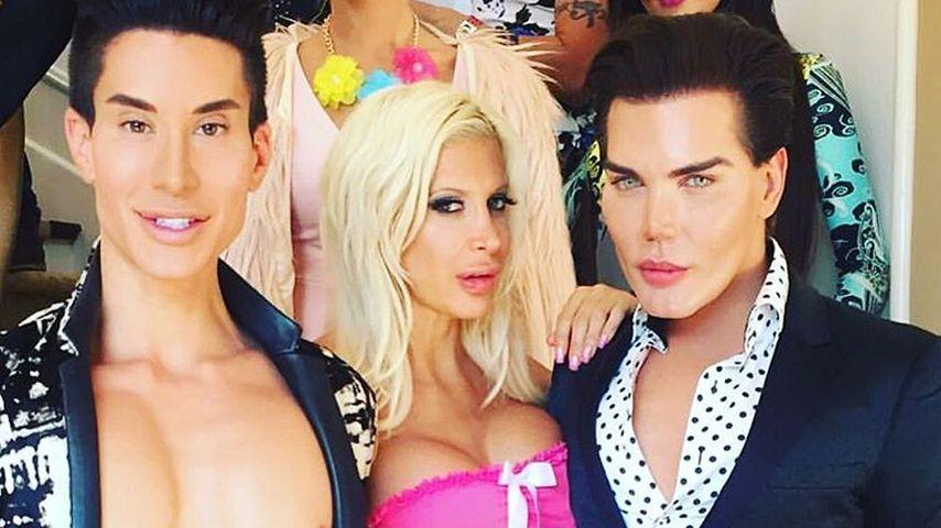 """Justin Jedlica, Angelique """"Frenchy"""" Morgan und Rodrigo Alves"""