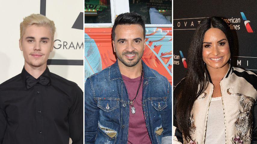 Hits mit Justin & Demi: Aber wen findet Luis Fonsi besser?