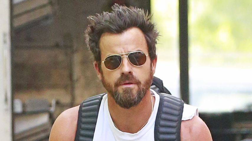 Justin Theroux unterwegs in New York
