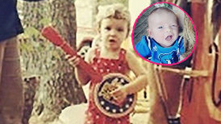 Wie der Papa! Justin Timberlakes Söhnchen sieht aus wie er