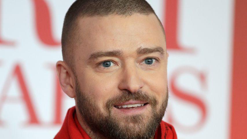 Justin Timberlake bei den BRIT Awards 2018 in London