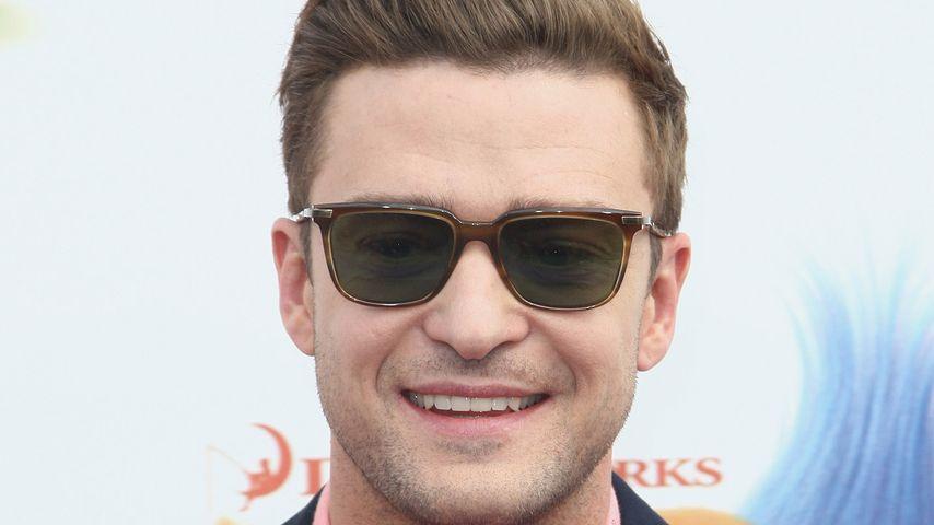 """Justin Timberlake bei der Premiere von """"Trolls"""" in Hollywood"""