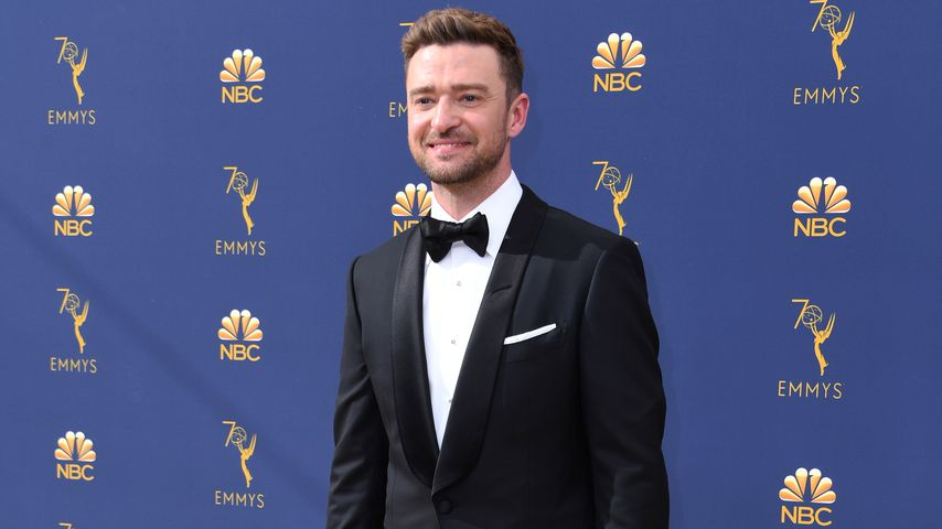 Justin Timberlake bei den Emmy Awards im September 2018