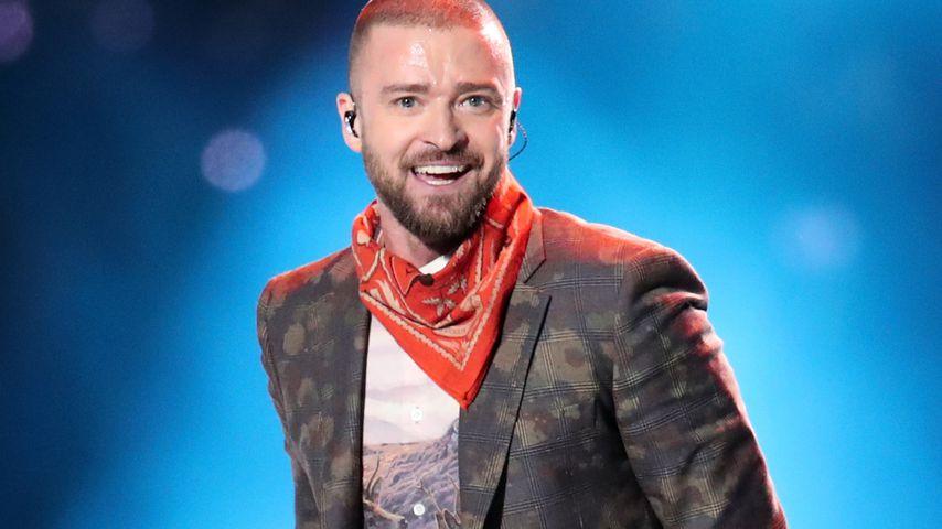 Bei Show in London: Justin Timberlake zeigt WM-Halbfinale!
