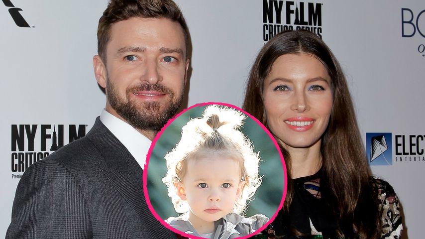 Justin Timberlake & Jessica: Wem sieht Sohn Silas ähnlicher?