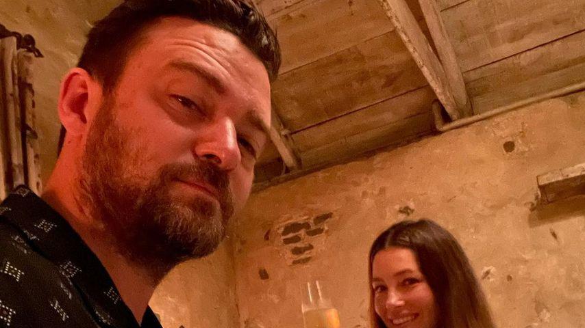 Seltenes Foto: Justin Timberlake und Jessica genießen Date