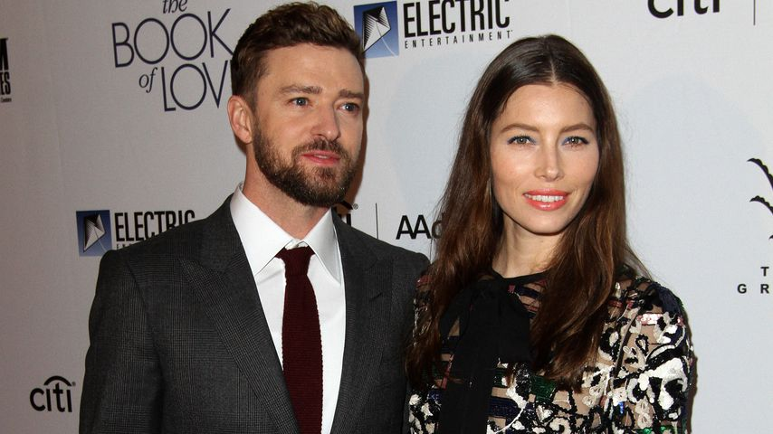 "Justin Timberlake & Jessica Biel auf der Premiere von ""The Book of Love"" in Los Angeles"