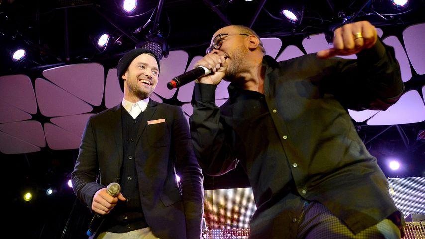 Justin Timberlake und Timbaland, 2013