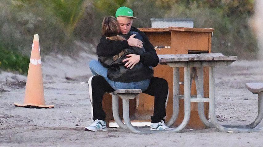 Justin und Hailey Bieber total verliebt im Kuschelmodus!