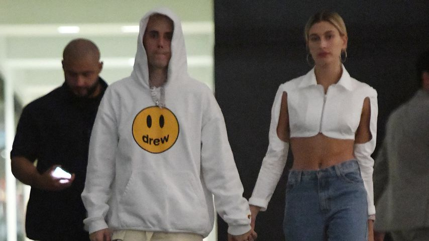 Justin und Hailey Bieber in Miami
