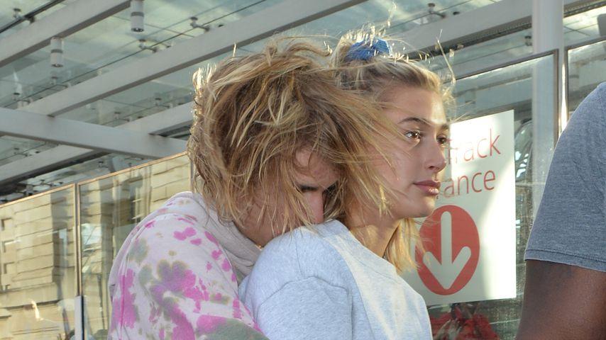 Justin und Hailey Bieber in London