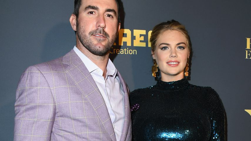 Justin Verlander und Kate Upton in Los Angeles Juli 2018