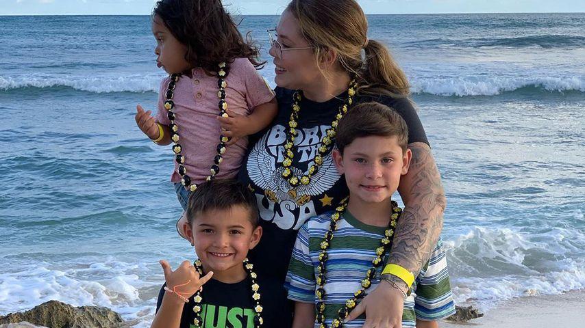 Kailyn Lowry mit ihren Söhnen