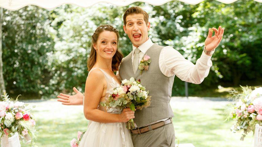 """""""Alles was zählt""""-Jubiläum: Allererste Fotos der Hochzeit"""