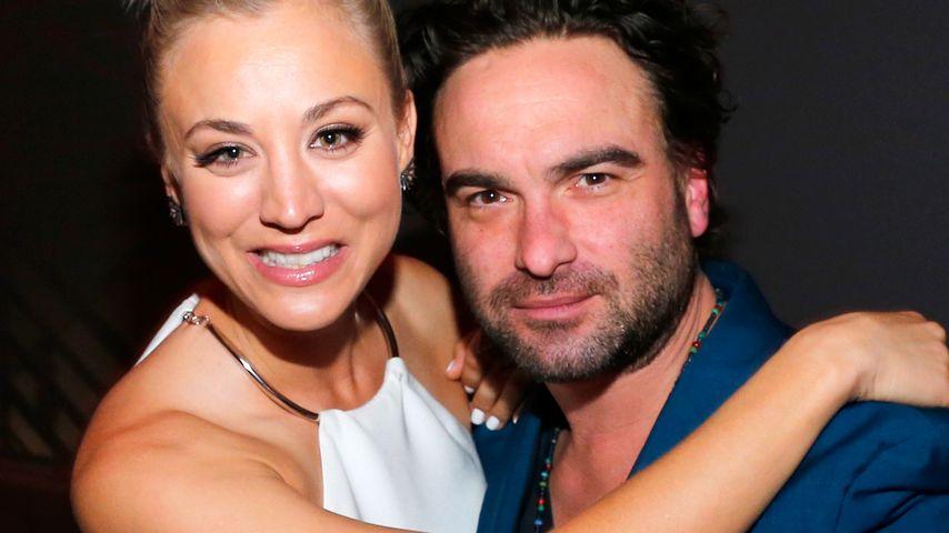 Kaley Cuoco und Johnny Galecki, Serien-Stars und Ex-Partner
