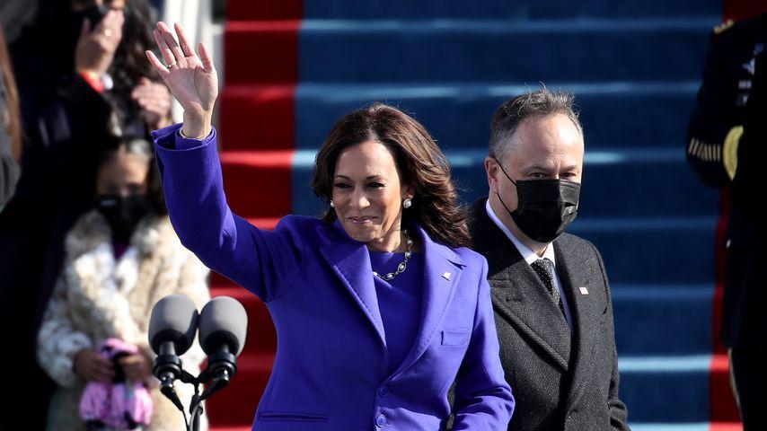 US-Vizepräsidentin Kamala Harris bei der Amtseinführung