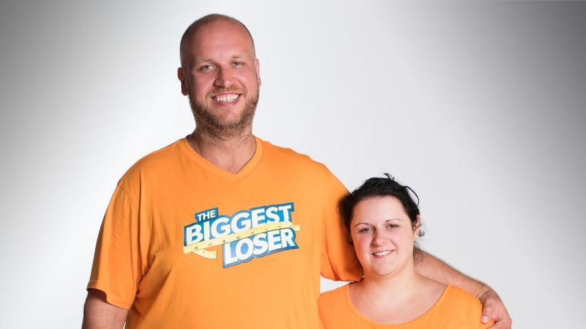 """Kamil und Zoi von """"The Biggest Loser"""" 2017"""