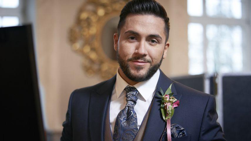 """Kandidat Mehmet bei seiner """"5 Senses for Love""""-Hochzeit"""
