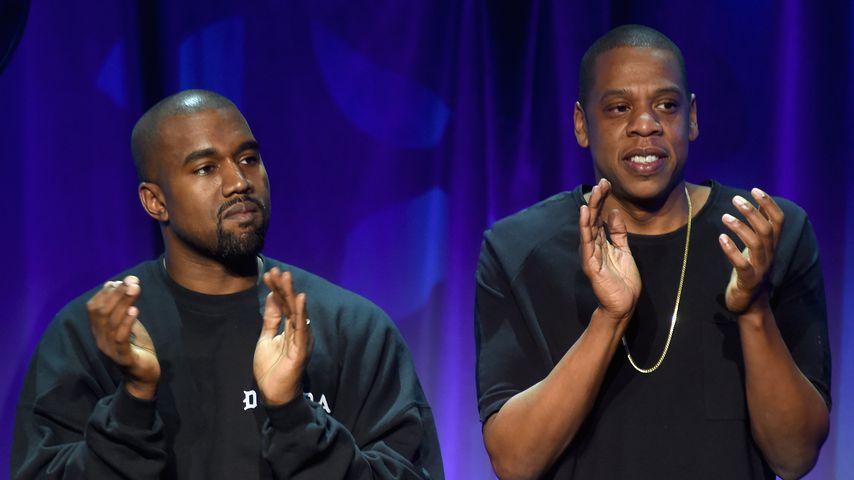Nach Rapper-Beef: Sind Kanye & Jay-Z wieder Best Buddys?