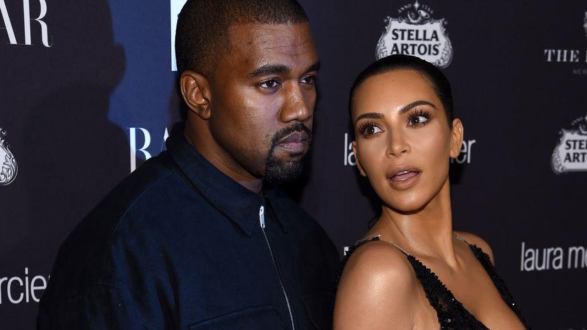 Mag er sie so am liebsten? Kanye sucht Outfits für Kim aus!