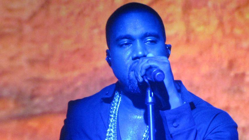 Kanye West bei einem Konzert