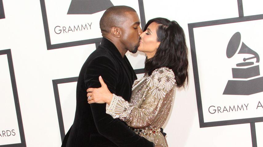 Am 1. Hochzeitstag: Kanye West & Kim erneuern Ehegelübde!