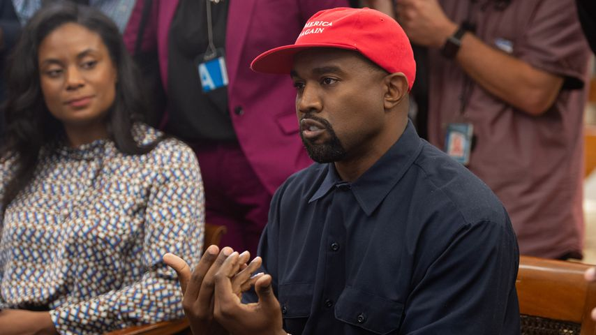 Kanye West im Weißen Haus in Washington D.C. im Oktober 2018