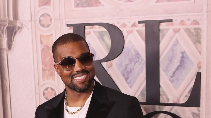 Rapper Kanye West bei der New Yorker Fashion Week, 2018