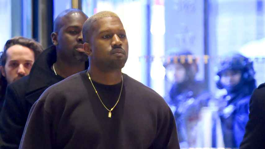 Kanye West im Trump Tower in New York