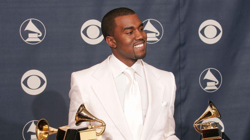 Kanye West bei den Grammy Awards 2005