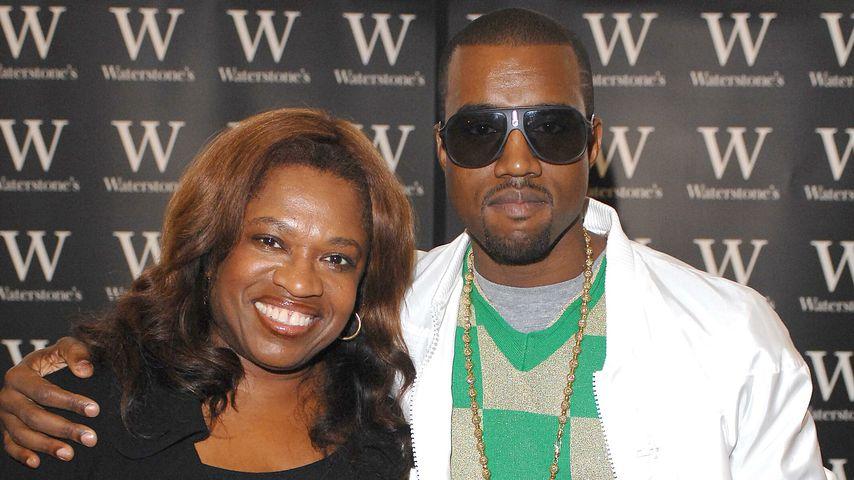 Kanye West mit seiner Mutter Donda im Juni 2007