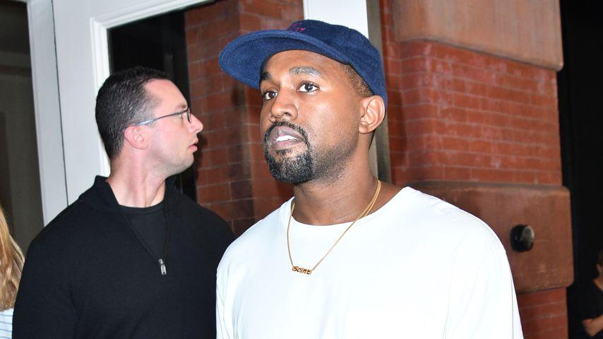 Kanye West im Oktober 2016 vor einem Hotel in New York
