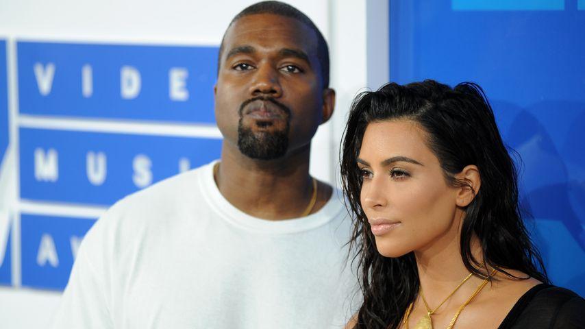 Kim Kardashian genervt von Kanye: Er wird immer pummeliger!