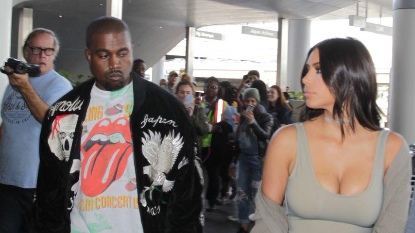 Kanye flippt aus: Kim Kardashian war beim Scheidungs-Anwalt